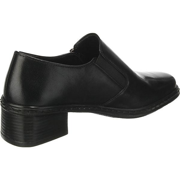 Gabor, Klassische Slipper, schwarz schwarz Slipper,   028983