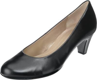 Gabor Pumps schwarz Nappaleder: : Schuhe & Handtaschen