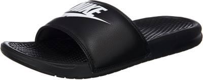 Nike Sportswear, Benassi Just Do It Pantoletten, schwarz