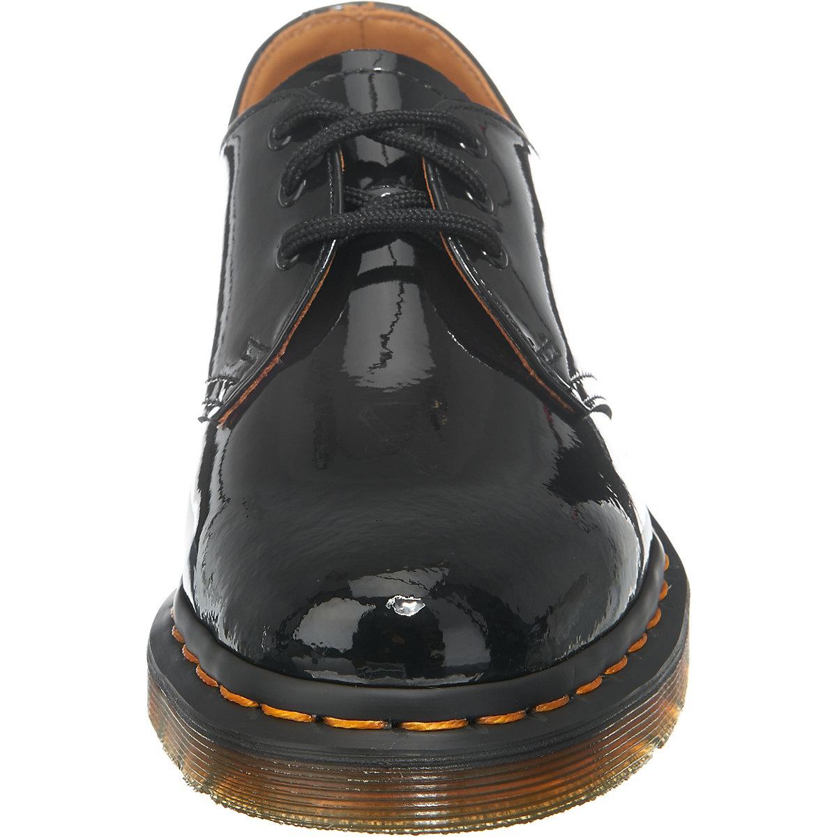 dr martens 1461 patent black klassische halbschuhe schwarz mirapodo. Black Bedroom Furniture Sets. Home Design Ideas