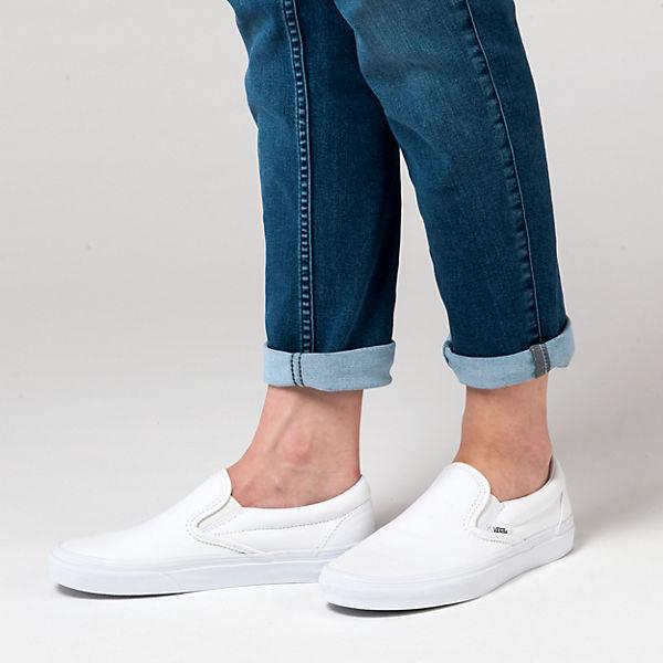 VANS VANS Classic Slip-On Sneakers weiß