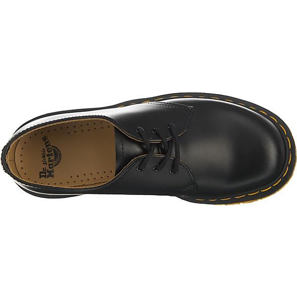 Last Martens Smooth Black 59 1461 Klassische schwarz Halbschuhe Dr SWRngPP