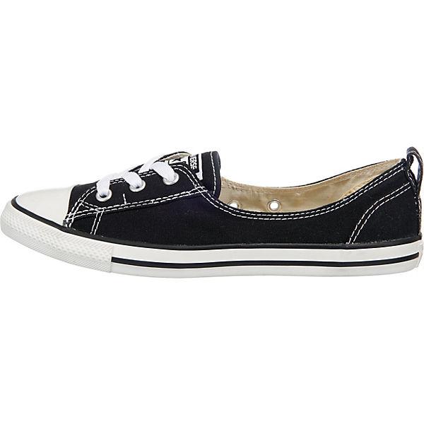 CONVERSE, Chuck Taylor Ballet Lace Slip Sneakers Niedrig, Niedrig, Niedrig, schwarz  Gute Qualität beliebte Schuhe cf88f3