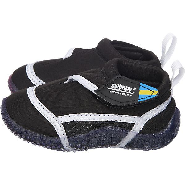 SWIMPY Kinder Aquaschuhe schwarz