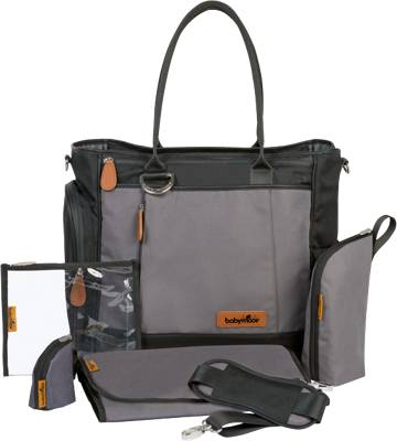 Babymoov, Wickeltasche Essential Bag, schwarz, schwarz