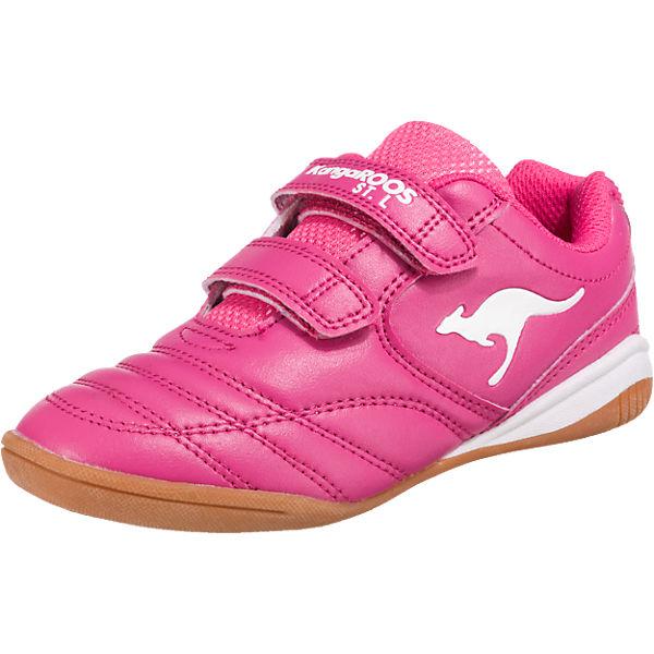 wholesale dealer b0301 644bf KangaROOS, Kinder Sportschuhe KANGAYARD für Mädchen, pink