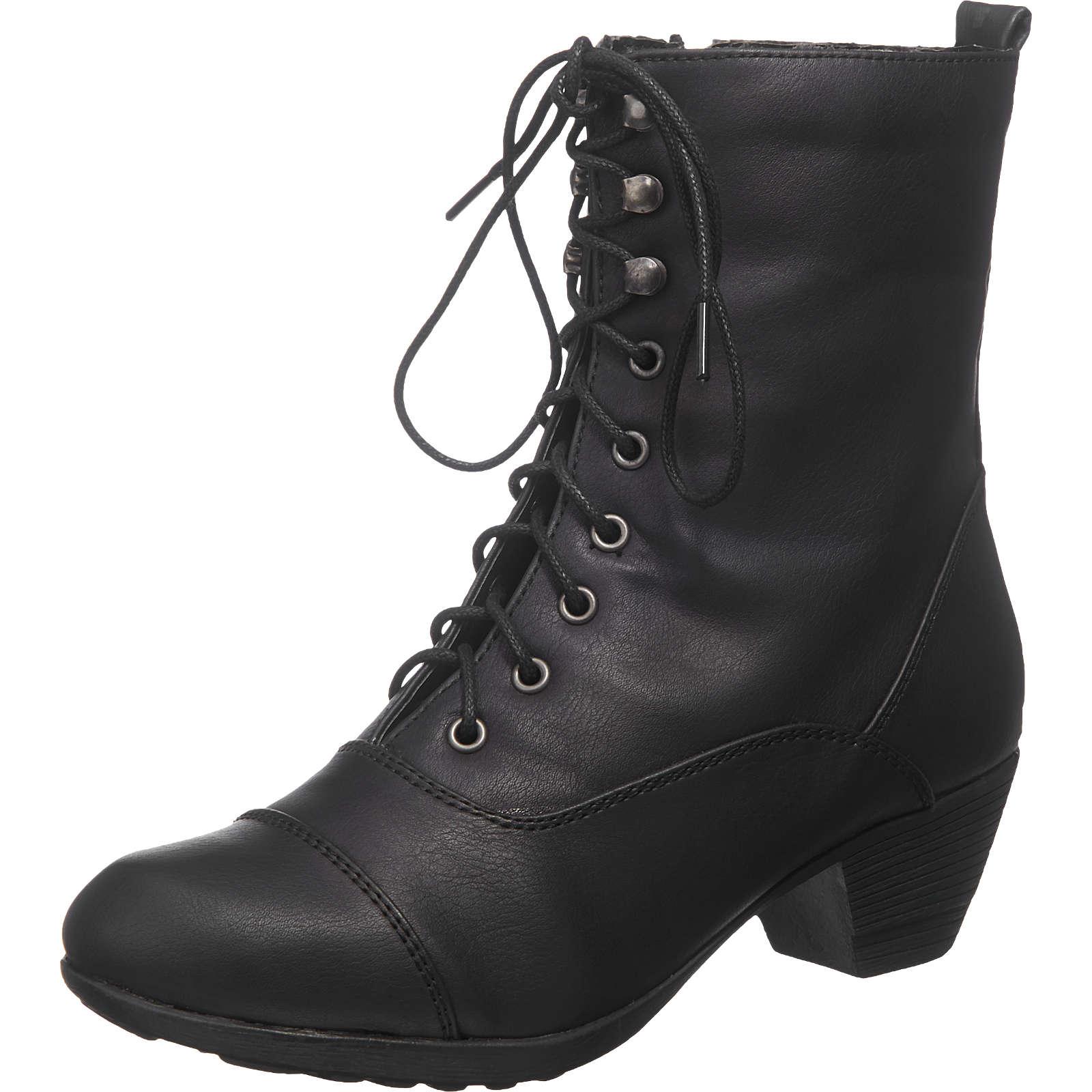 Andrea Conti Stiefeletten schwarz Damen Gr. 40 jetztbilligerkaufen