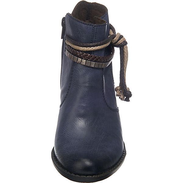 Rieker, Klassische Stiefeletten, Stiefeletten, Stiefeletten, dunkelblau  Gute Qualität beliebte Schuhe b3f4fa