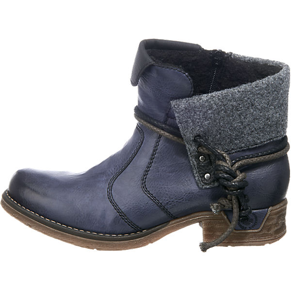 rieker, rieker Stiefeletten, blau-kombi  Gute Qualität beliebte Schuhe