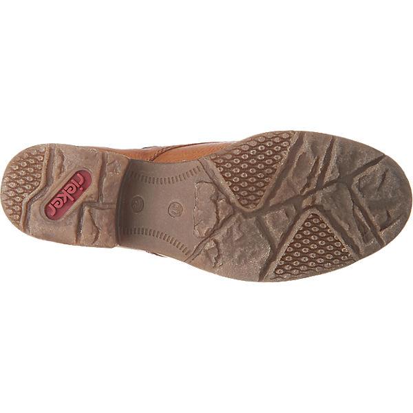 rieker, rieker Gute Stiefeletten, braun-kombi  Gute rieker Qualität beliebte Schuhe 0d5fc2