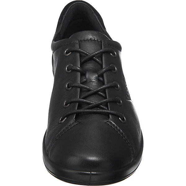 Soft 2 ecco Halbschuhe Black ecco 0 schwarz Sole Black with Feather 5qx7Egw