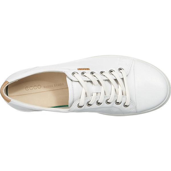 ecco weiß Low 7 Soft Sneakers Ladies BqrFBHw