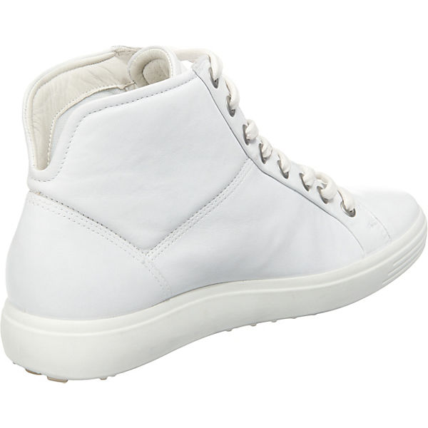 ecco ecco Soft 7 Ladies White Droid Sneakers weiß