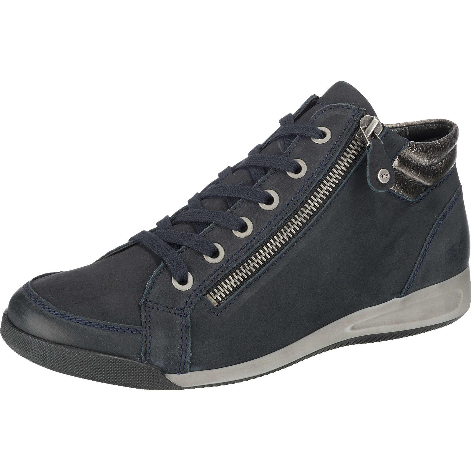 ara ROM Sneakers High blau Damen Gr. 36,5