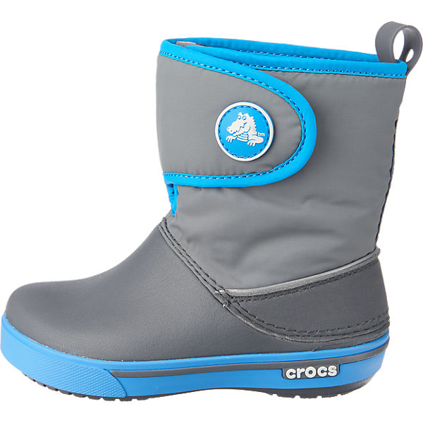 crocs crocband ii 5 gust boot kinder winterstiefel grau mirapodo. Black Bedroom Furniture Sets. Home Design Ideas
