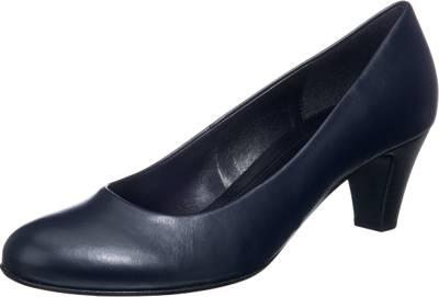 Unisa Anima Black, Schuhe, Absatzschuhe, Pumps mit niedrigem Absatz, Schwarz, Female, 36