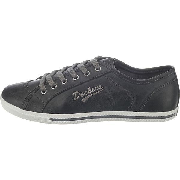 Low Sneakers Gerli schwarz by Dockers kombi 1ntH0wBYxq