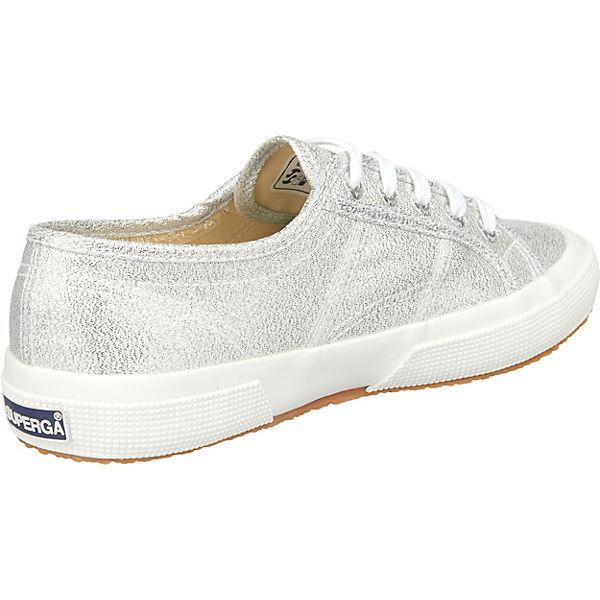 Superga® 2750-LAMEW Sneakers Low silber