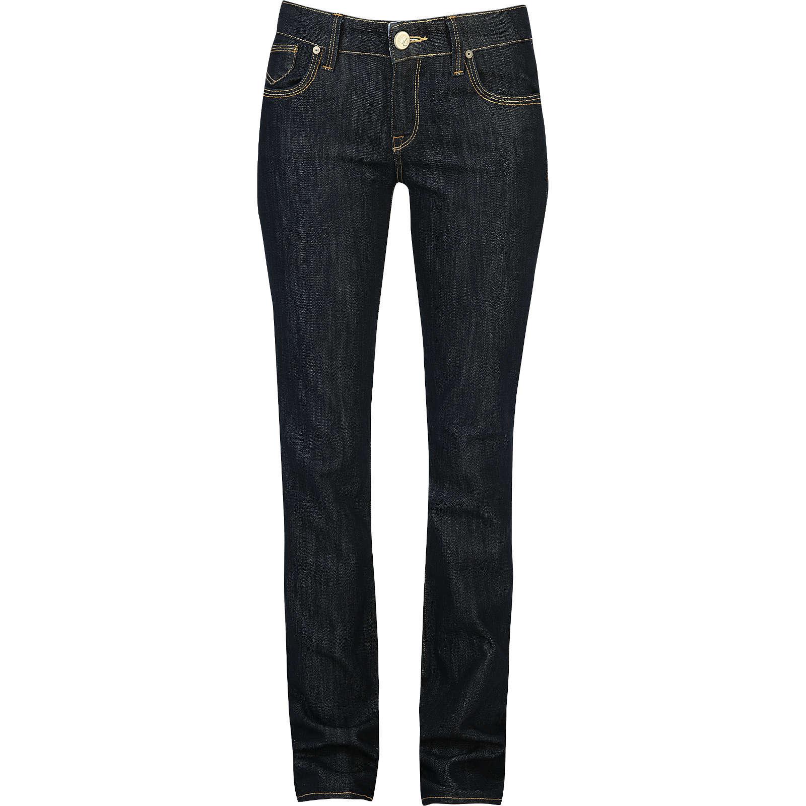 Mavi Uptown Jeans Mona Straight dunkelblau Damen Gr. W27/L34