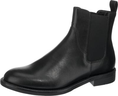 Vagabond – Chelsea Boots aus Leder mit Lyralochung – Cognac