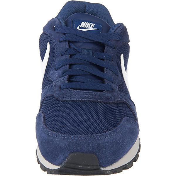 Nike Sportswear, Md Runner 2 Sneakers Sneakers Sneakers Low, dunkelblau   3743d7