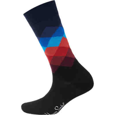 Faded Diamond Sock Socken