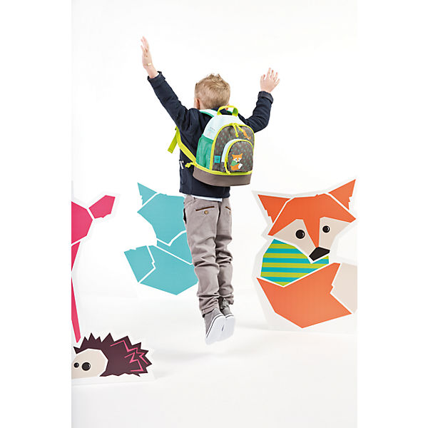 Kindergarten Rucksack 4kids, Mini Backpack, Little Tree, Fox