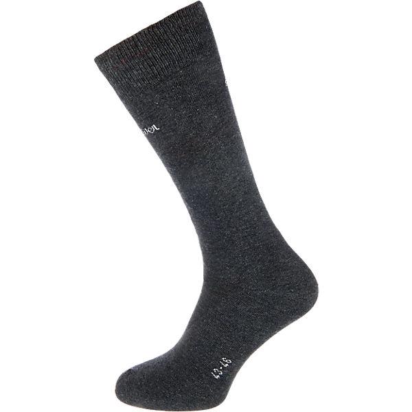 Socken Paar 2 Oliver dunkelgrau s qEt0wax