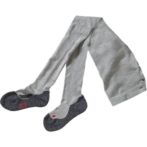 182e1aa511bc2 FALKE, Kinder Strumpfhose Active Warm, grau