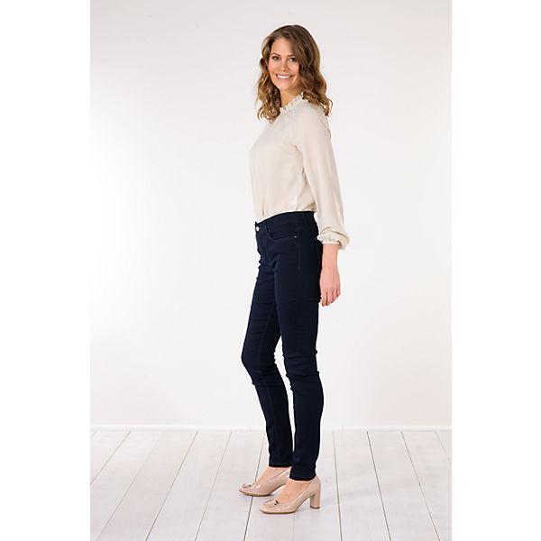 Skinny Dunkelblau Jeans Mac Dream Mac XPkZiu