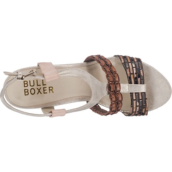 BULLBOXER BULLBOXER Sandaletten braun-kombi