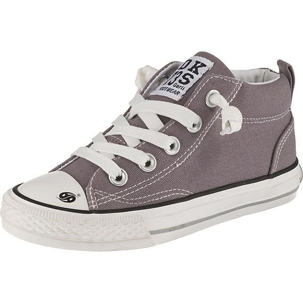 Dockers by Gerli, Sneaker High Mid Cut für Kinder, grau 6592eb3ff9