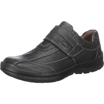 Man-Life Komfort-Leder-Klettschuh made in Germany Komfort-Halbschuhe