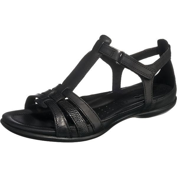 d2f8b80f72f15 ecco, ECCO FLASH Komfort-Sandalen, schwarz