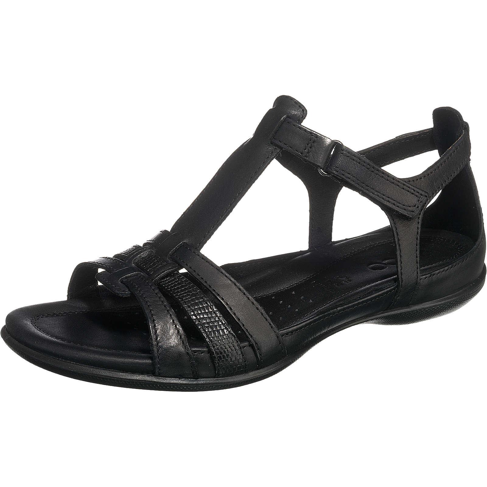 ecco Flash Black/Black Sambal/Leila T-Steg-Sandalen schwarz Damen Gr. 40