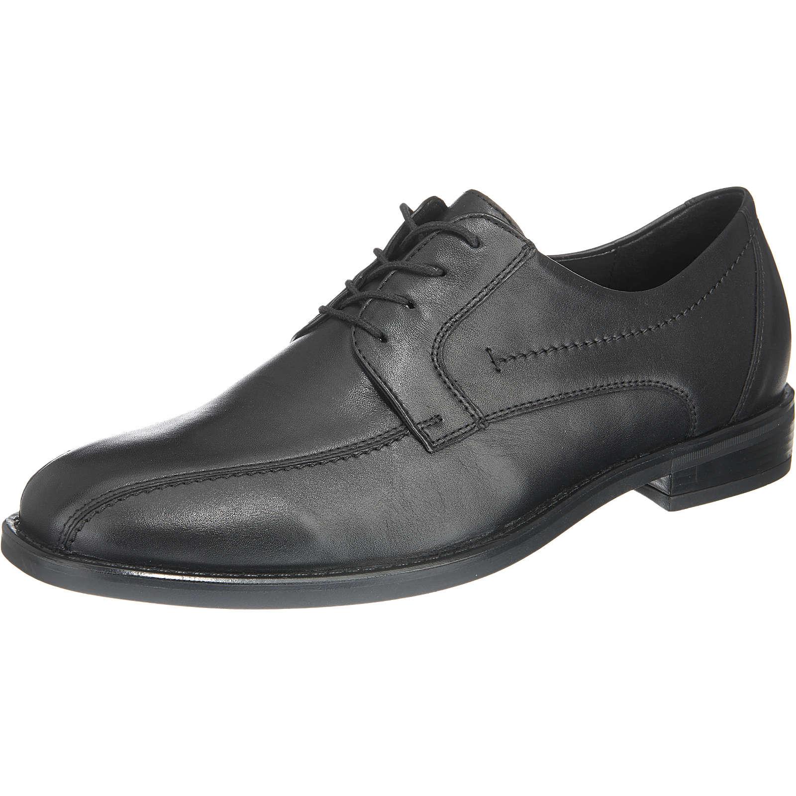 WALDLÄUFER Business Schuhe schwarz Herren Gr. 41