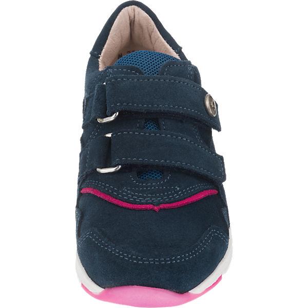 Däumling Halbschuhe, Weite S für schmale Füße, für Mädchen blau