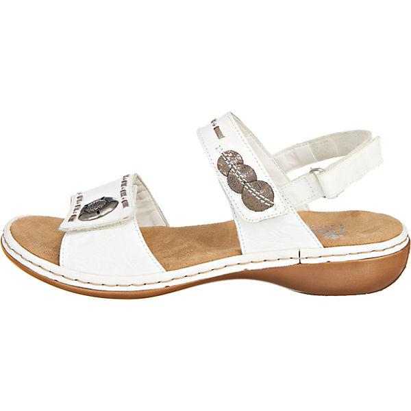 rieker, rieker Sandaletten, weiß     e5362d