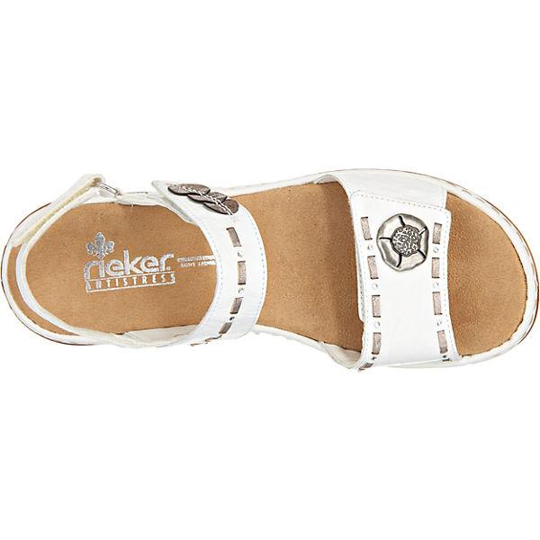 rieker rieker Sandaletten weiß