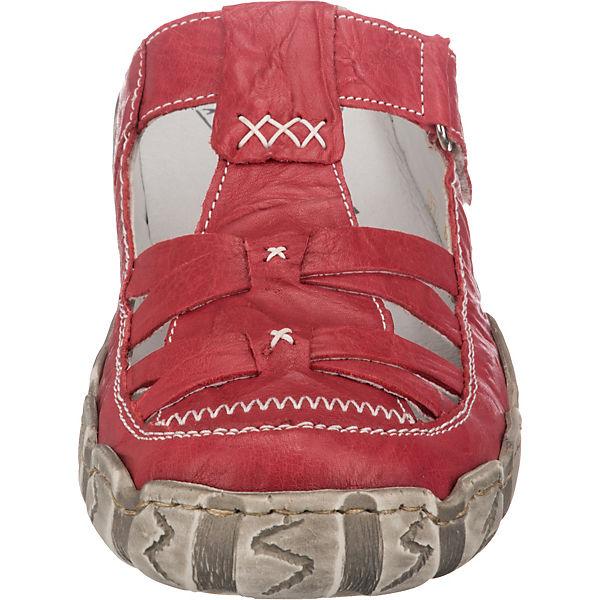 Komfort Komfort Rieker pantoletten Rot Rieker Rot pantoletten CxrdWQBeo