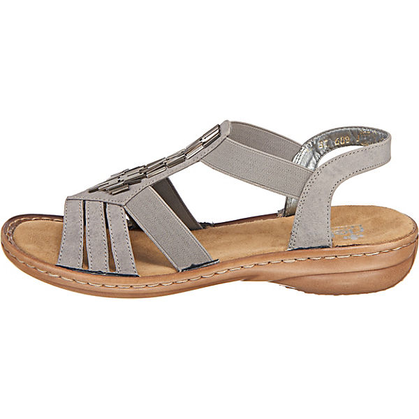 Rieker Klassische Klassische Grau Rieker Sandalen 4HgBZq