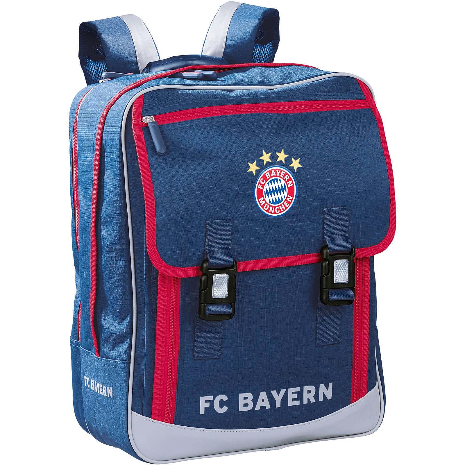 Schulrucksack Classic FC Bayern München blau