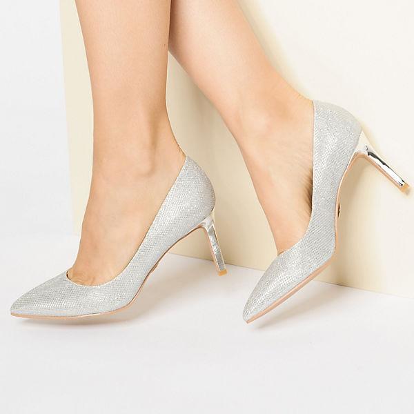 BUFFALO,  Klassische Pumps, silber  BUFFALO, Gute Qualität beliebte Schuhe 8d471c