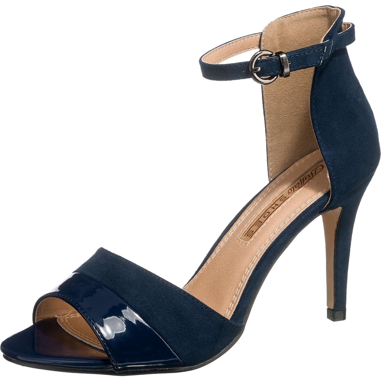 BUFFALO Sandaletten dunkelblau Damen Gr. 40