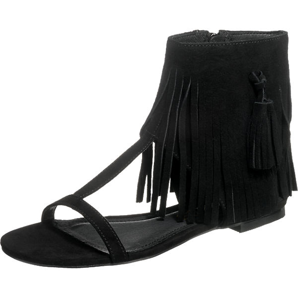 BUFFALO Sandaletten schwarz Damen Gr. 39 Sale Angebote Senftenberg