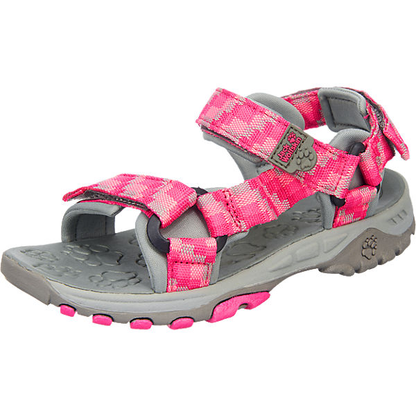 jack wolfskin sandalen seven seas f r kinder pink mirapodo. Black Bedroom Furniture Sets. Home Design Ideas