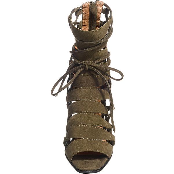Jeffrey Campbell Jeffrey Campbell Campbell Campbell Zaferiah Sandaletten khaki  Gute Qualität beliebte Schuhe 1e3be0