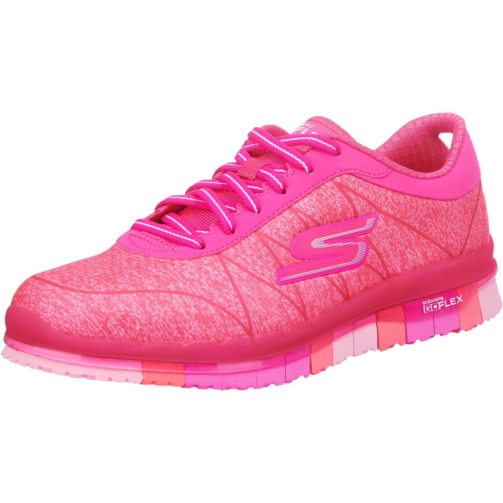 SKECHERS GO Flex Ability Sportschuhe pink Damen Gr. 40