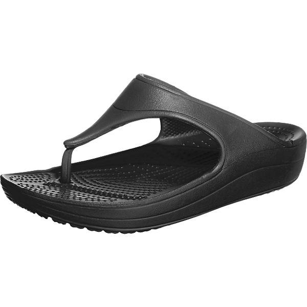 59325e4103a37 Crocs Sloane Platform Flip Zehentrenner