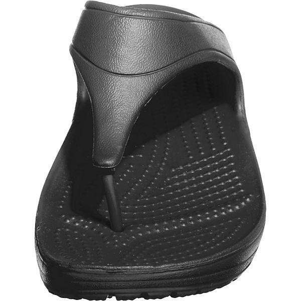 crocs Crocs Sloane Zehentrenner Platform schwarz Flip rZrTwdq